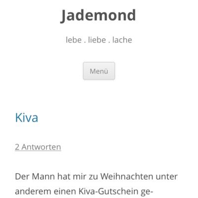 Biblio 01/14 – Jademond