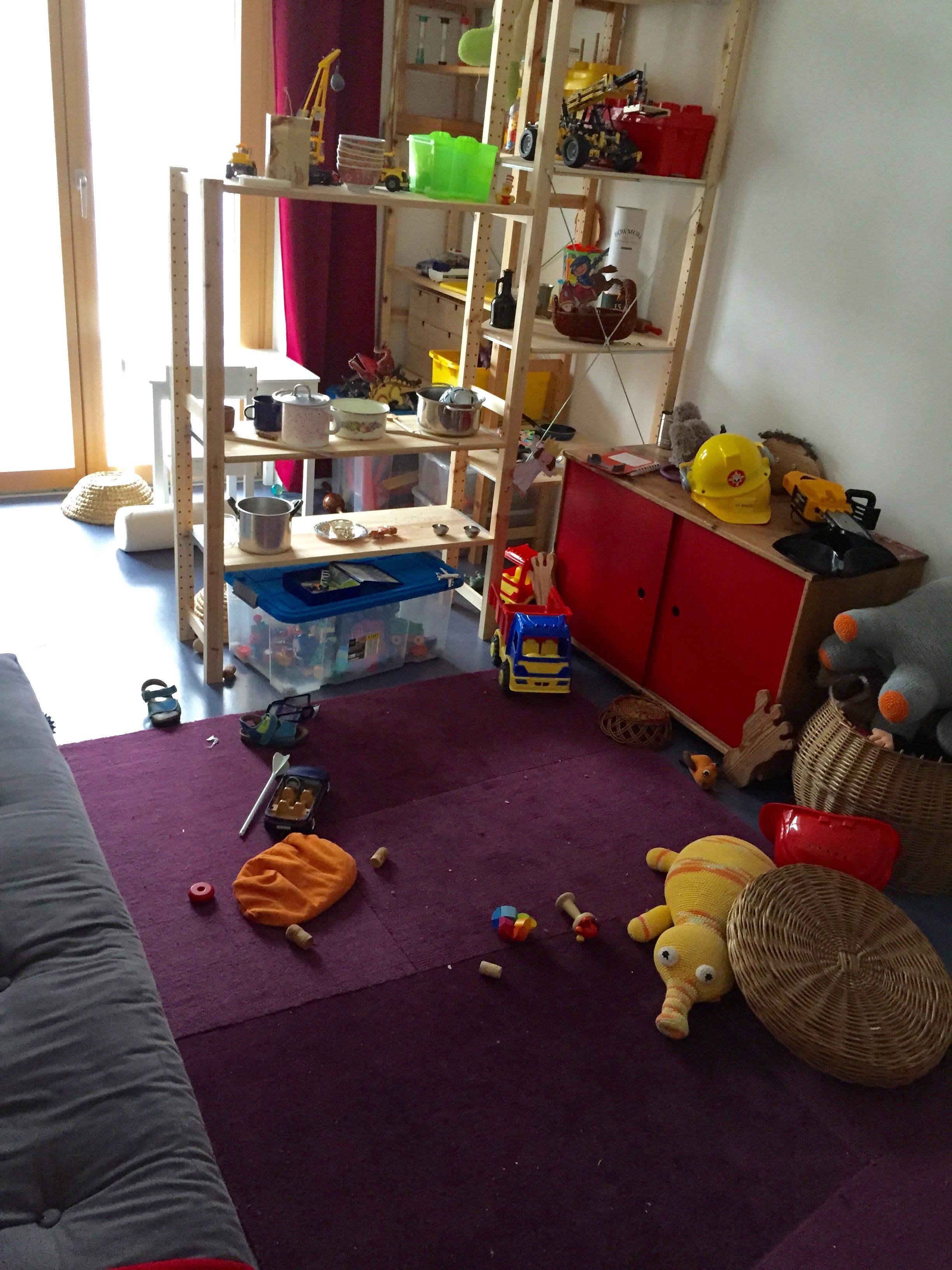 Unser Weg zum chaosfreien Kinderzimmer – Schritt 1: Das Spielzimmer