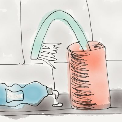 Dann putz ich halt erst zum Mittag die Zähne