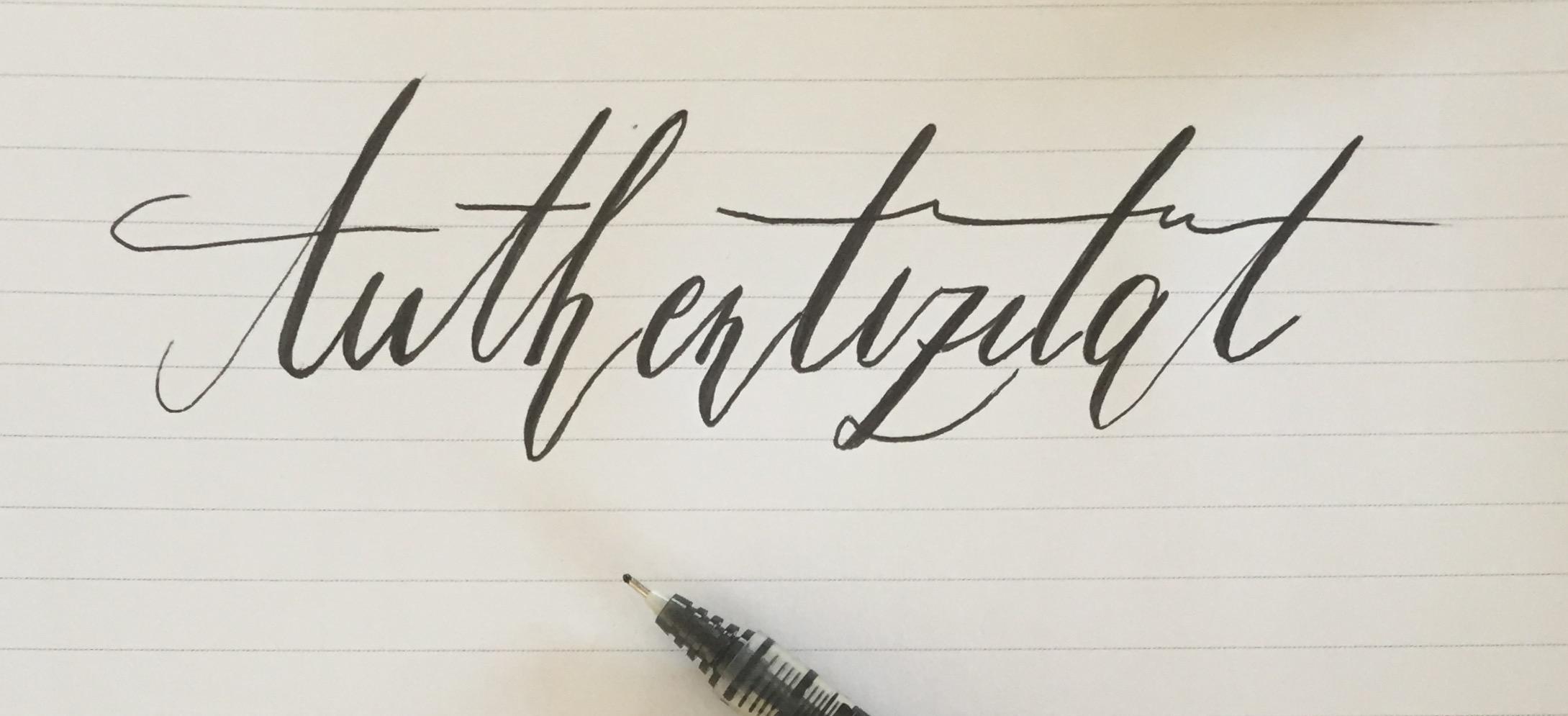 Mein Motto im April: Authentizität