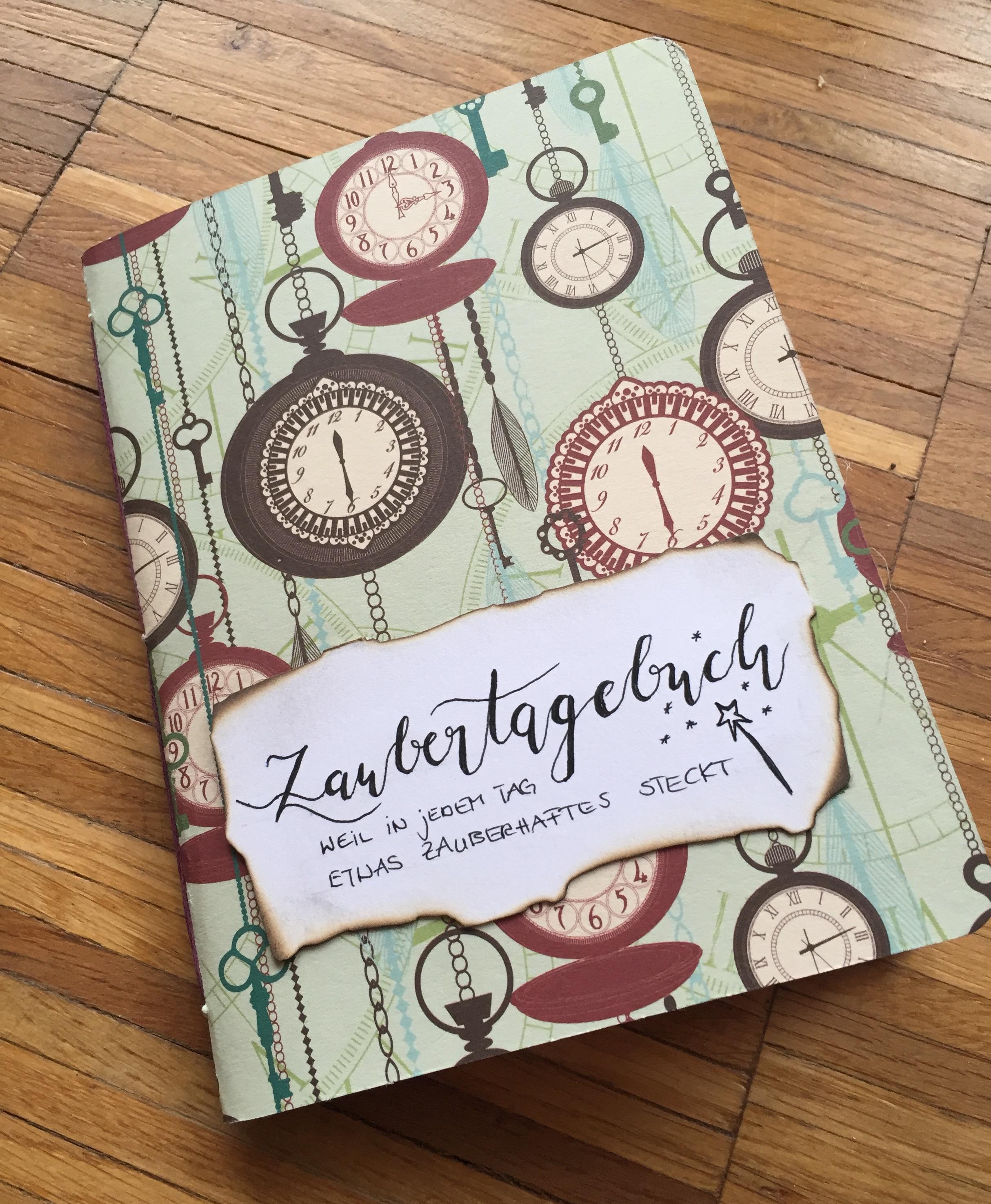 Zaubertagebuch :: kleine Geschenkidee (auch für dich selbst)