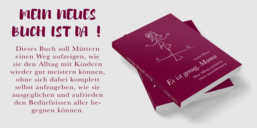 """Buch """"Es ist genug, Mama"""""""